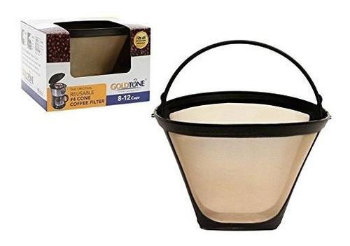 Accesorios Para Cafeteras Goldtone Marca Reutilizable No.4 C