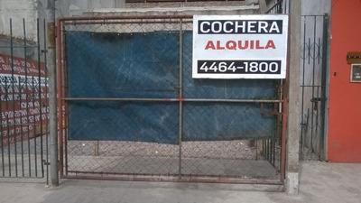 Cochera En Alquiler En Rafael Castillo