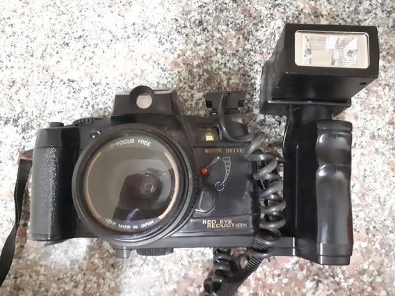 Máquina Fotográfica Antiga Yashica Colecionador Fotos