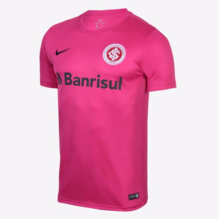 Camisa Internacional Rosa Personalizada Nome E Numero