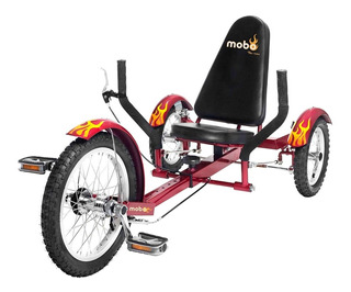Triciclo De Bicicleta Recostada Mobo Triton
