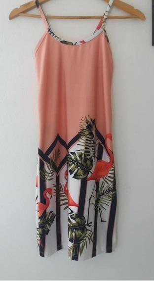 Vestido Flamencos Nuevo Importado Talle 1 - 2