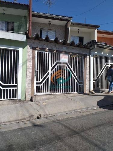 Imagem 1 de 18 de Sobrado Com 2 Dormitórios À Venda, 75 M² Por R$ 450.000,00 - Vila Augusta - Guarulhos/sp - So0281