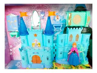 Castillo De Princesa De Frozen Con Música Accesorios