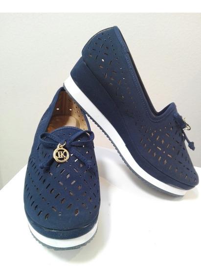 Flats Zapato Dama Suela Eva Tipo Cuña