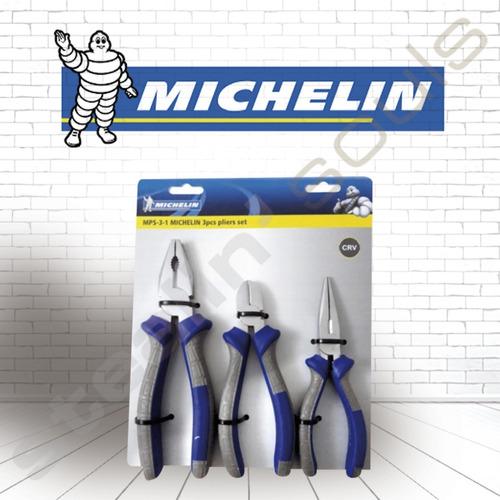 Michelin | Set | Pinzas Universales & Alicates | 3 Unidades