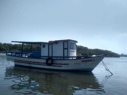 Imagem 1 de 7 de Barco Para Pescaria Em Alto Mar. Saída De Praia Grande.