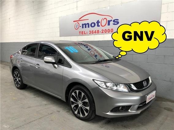 Honda Civic 2.0 Lxr Automatico Completo Gnv