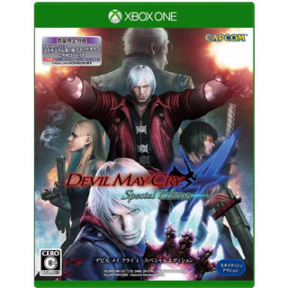 Devil May Cry 4 Special Edition Xbox One Rockestore