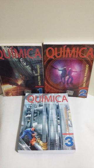 Kit Com 3 Livros De Química - Vol. 1 2 E 3 - Dalton Franco