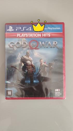 God Of War 4 Lacrado Dublado Ps4 - Mídia Física Promoção