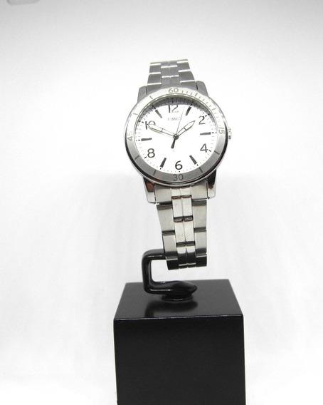 Reloj Timex Para Dama Con Bisel Nuevo Acero Inoxidable Wow!!