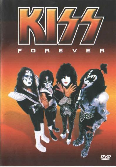 Dvd Kiss Forever Documentário Da Banda A Tragetória Do Grupo