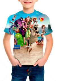 Camiseta Infantil Hotel Transilvânia 3 - M01