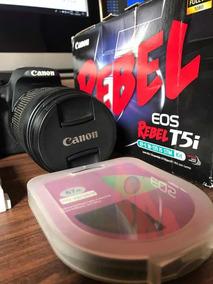 Câmera Cânon T5i Na Caixa