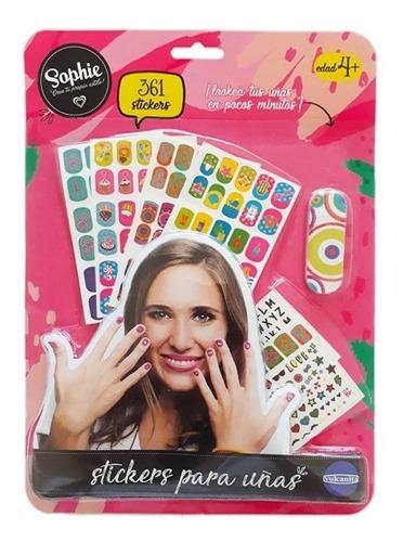 Sophie Stickers Para Uñas Original Vulcanita