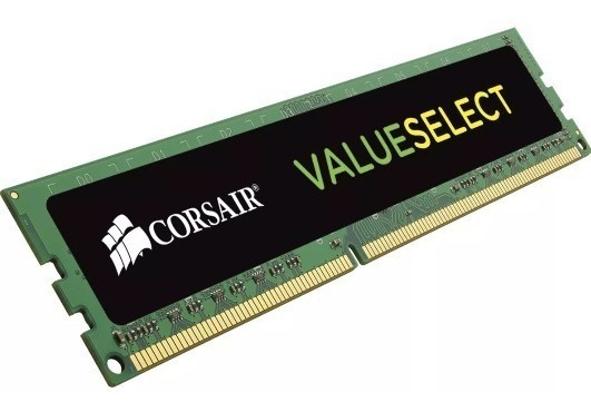 Memoria Ram Corsair Value Pc Ddr3 4gb 1600mhz Cl11 Blister