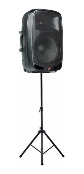 Caixa Ativa Bluetooth Staner Ps-1501 200w + Tripe De Caixa