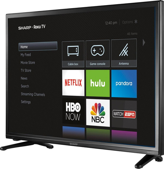 Televisor Philips De 32 Series 4664 Roku Tv Con Base Inclu
