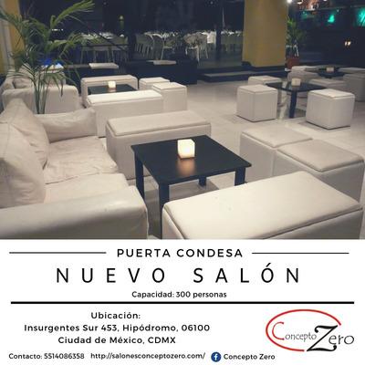 Renta De Salon Para Graduaciones En Condesa