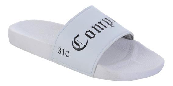 Chinelo Nfl Compton Branco