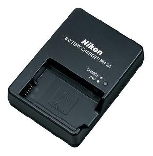 Cargador Nikon Mh24 Nuevo Par Enel14 D3300 D3400 D5300 D5500