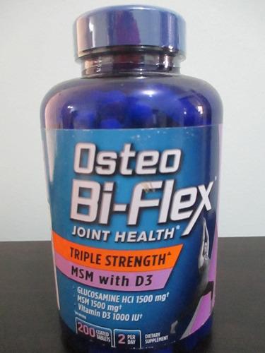 Osteo Bi-flex Glucosamina 1500 Mg Msm 1500 Vitamina D3 1000