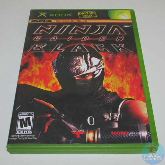 Ninja Gaiden Black Xbox Classico Original Funciona Xbox One!
