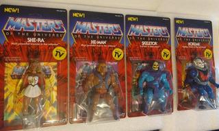Masters Of The Universe Vintage Super 7 (wave 1) 4 Figuras