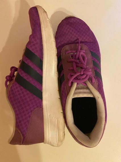 Zapatillas adidas - 8 1/2 38 1/2 Usadas Mujer