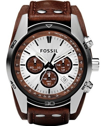 Relógio Fossil Masculino Coachman Ch2565/0mn