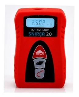 Trena Medidor De Distancia Laser 20 Metros Sniper20 Ada