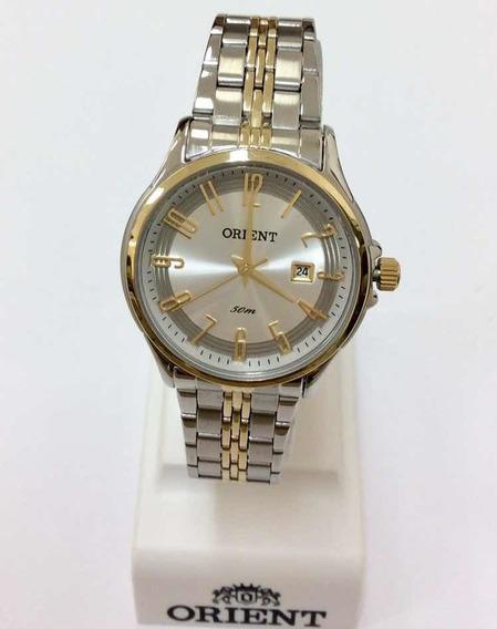 Relógio Orient Bicolor Feminino