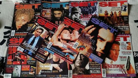 12 Revistas Set Edições 103 A 114 Ano 1996 - Revista