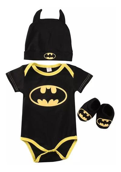 Mameluco/ Pañalero De Batman Para Bebé Niño