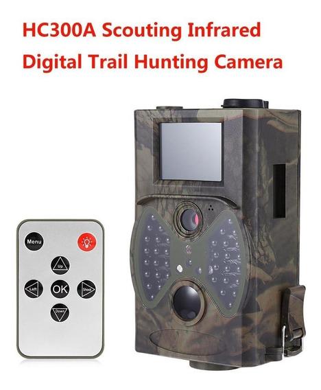 Câmera De Trilha Com Visor Lcd Hc 300 Suntek 1080 Promoção