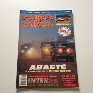 Revista Fora Da Estrada Abaeté Aventura Em Minas Gerais A134
