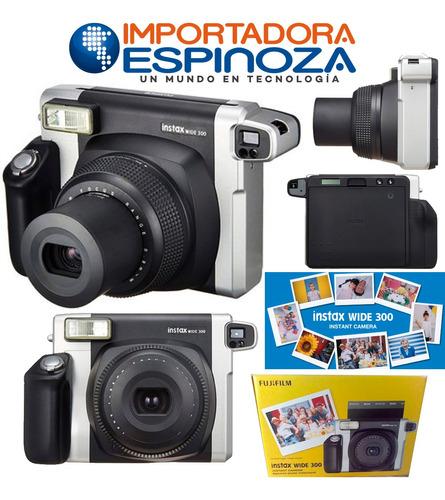 Fujifilm Instax Wide 300 Camara Instantanea Imprime Fotos