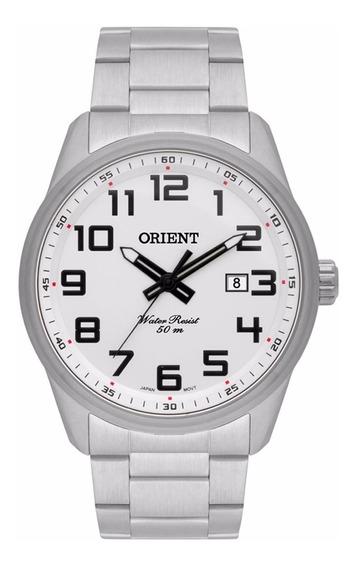 Reógio Orient Masculino Prata - Mbss1271