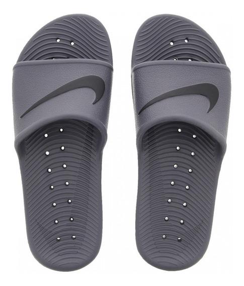 Chinelo Nike Kawa Shower 10/2019 Cinza/preto
