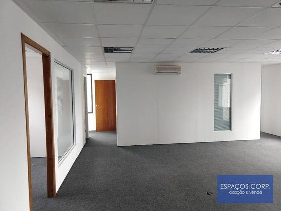 Conjunto Comercial À Venda Com Renda, 104m²- Brooklin - São Paulo/sp - Cj1870