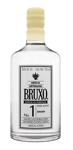Imagen 1 de 1 de Botella De Mezcal Bruxo No 1 Espadin 750ml