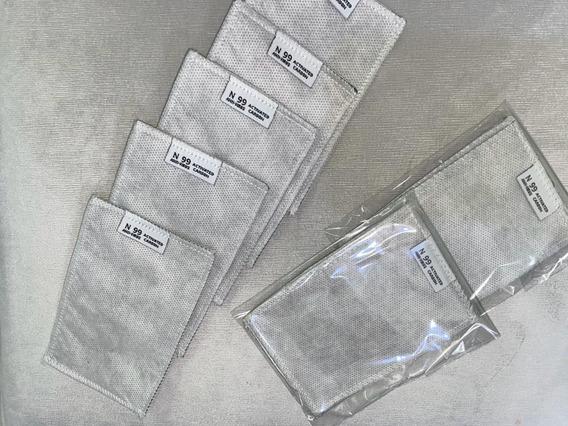 Filtro Repuesto Carbon Activado Para Mascarilla, 5pzs