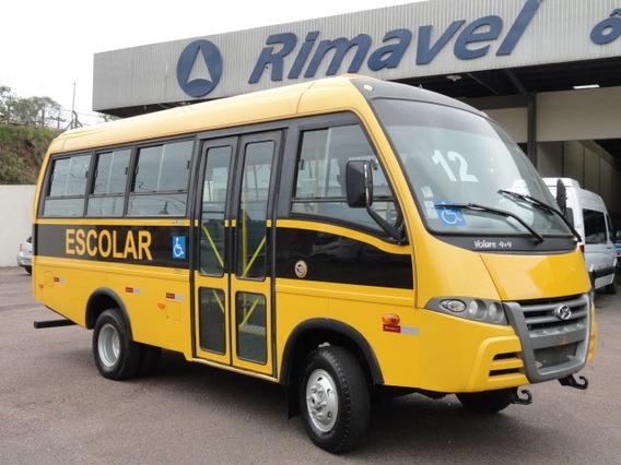 Micro Ônibus Escolar Volare V8 26 Lug. Ano 12/13 4x2