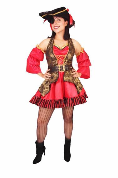 Disfraz Pirata Para Dama. Corsaria Sexy Halloween