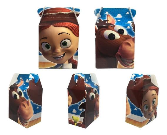 40 Cajas Para Dulces, Bolos, Toy Story Jessy La Vaquerita,
