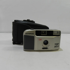 Câmera Fotográfica Olympus Dx Trip Md3 Usada C/ Defeito