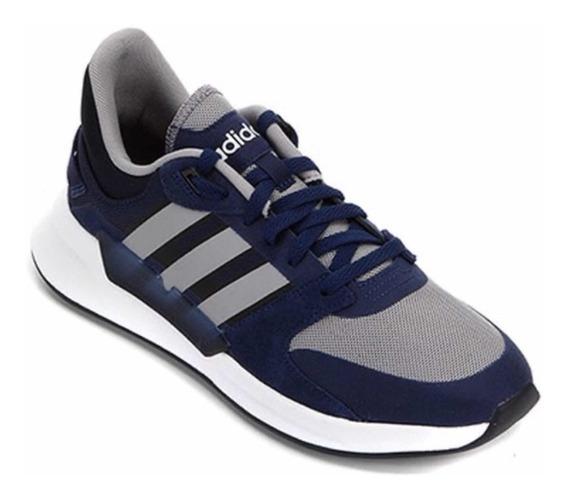 Tênis Tenis adidas Run 90s Corrida Masculino Sapato Azul New