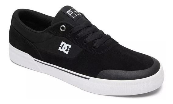 Zapatillas Dc Shoes Switch S Plus Negra Blanca (bkw)