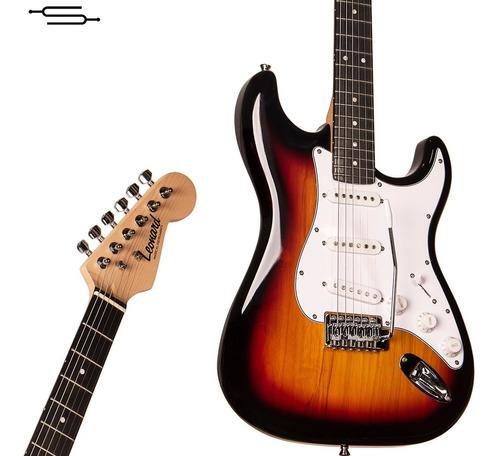 Imagen 1 de 5 de Guitarra Electrica Stratocaster Leonard Le362 Palanca Cable
